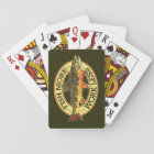 Brook Trout Fly Fishing Playing Cards