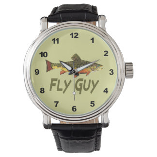 Brook Trout Fly Fishing Watches