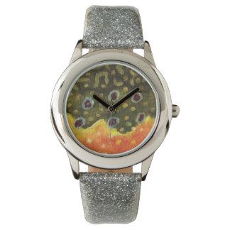 Brook Trout Fly Fishing Wrist Watch