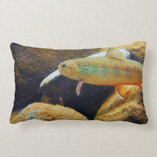 Brook  trout pillow