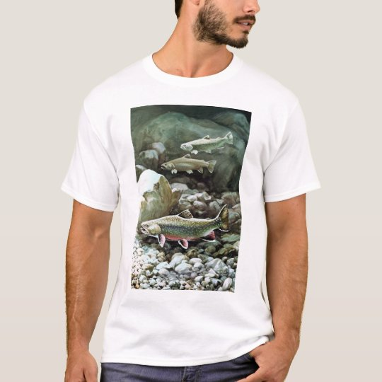 brook trout tee shirt