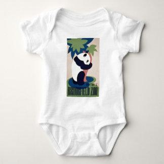 Brookfield Zoo Panda Baby Bodysuit