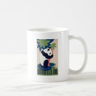 Brookfield Zoo Panda Basic White Mug