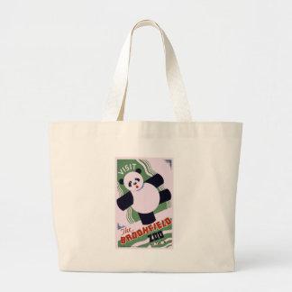Brookfield Zoo Panda Jumbo Tote Bag