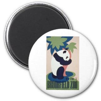 Brookfield Zoo Panda Refrigerator Magnet