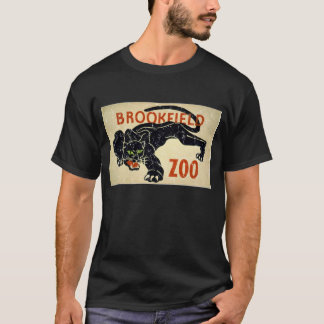 Brookfield Zoo-Panther-distressed T-Shirt