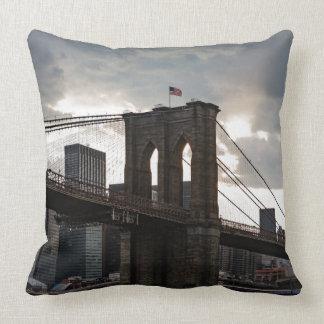 Brookly Bridge NYC Pillow