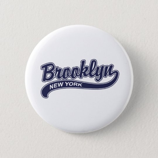Brooklyn 2 Inch Round Button