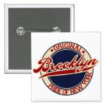 Brooklyn 2 Inch Square Button