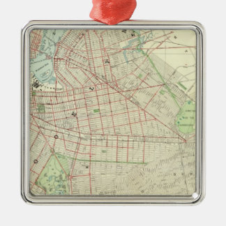 Brooklyn and Vicinity Metal Ornament