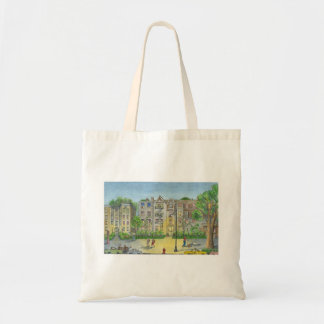 Brooklyn at dusk tote bag