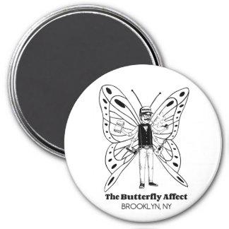 Brooklyn BA Round Magnet