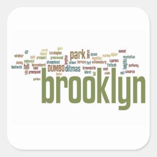 Brooklyn Baby Pride!! Square Sticker