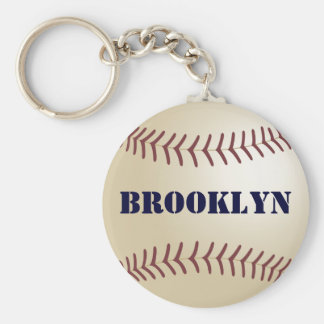 Brooklyn Baseball Keychain by 369MyName