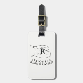 BROOKLYN BORN AND RAISED™ LOGO LUGGAGE TAG