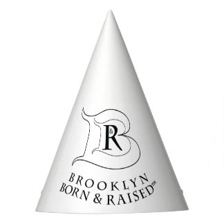 BROOKLYN BORN & RAISED LOGO PARTY HAT