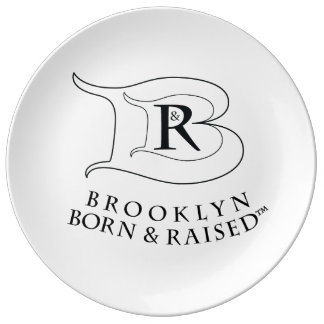 BROOKLYN BORN & RAISED LOGO PLATE