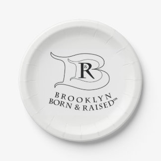 BROOKLYN BORN & RAISED LOGO PLATES
