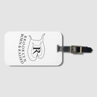 BROOKLYN BORN & RAISED™ LUGGAGE TAG BUSINESS CARD