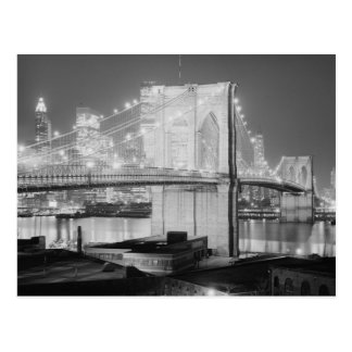Brooklyn Bridge, 1982 Postcard