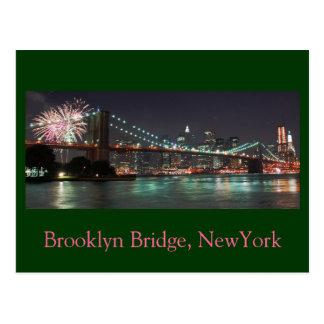 Brooklyn Bridge 2009, Brooklyn Bridge, NewYork Postcard