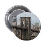 Brooklyn Bridge 2 Inch Round Button