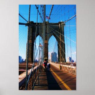 Brooklyn Bridge 3 Poster