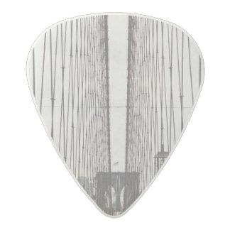 brooklyn bridge acetal guitar pick