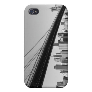 Brooklyn Bridge and Manhattan Skyline iPhone 4 Covers