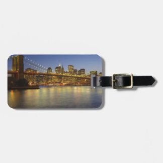Brooklyn Bridge and New York City buildings Luggage Tag