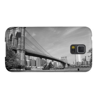 Brooklyn Bridge and NYC Skyline Galaxy S5 Case