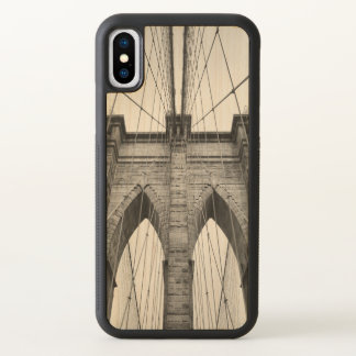 Brooklyn Bridge Architectural Detail iPhone X Case