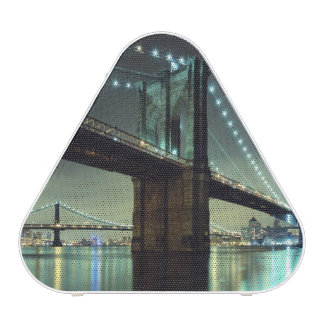 Brooklyn Bridge at night  Manhattan Bridge Blueooth Speaker