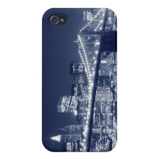 Brooklyn Bridge At Night, New York City iPhone 4 Case