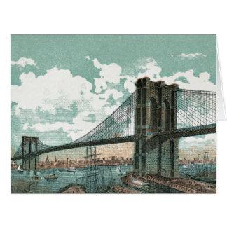 Brooklyn Bridge Big Greeting Card