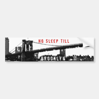 Brooklyn Bridge Bumper Sticker