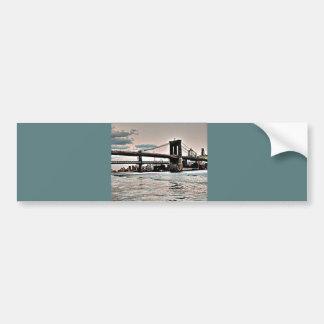 Brooklyn Bridge Bumper Sticker