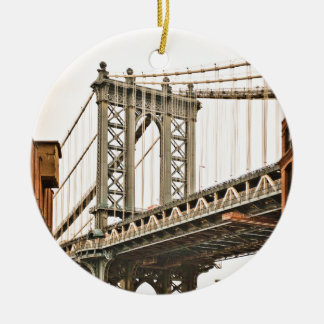 Brooklyn Bridge Ceramic Ornament