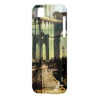 brooklyn bridge collage, NYC iPhone 5 Cases