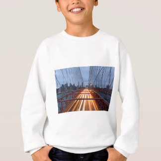 Brooklyn Bridge in the evening Sweatshirt