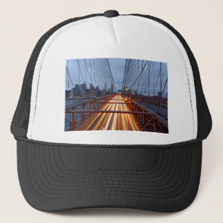 Brooklyn Bridge in the evening Trucker Hat