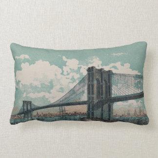 Brooklyn Bridge Lumbar Pillow