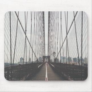 brooklyn bridge mouse pad
