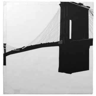 Brooklyn Bridge Napkin