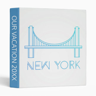 Brooklyn Bridge | New York City 3 Ring Binder