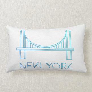 Brooklyn Bridge | New York City Lumbar Pillow