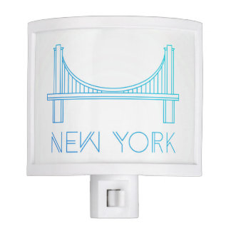 Brooklyn Bridge | New York City Night Light