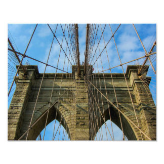 Brooklyn Bridge, New York City - Photo Print