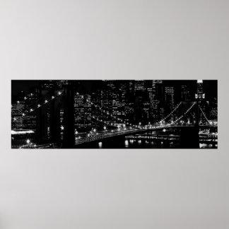 Brooklyn Bridge New York City Poster Print