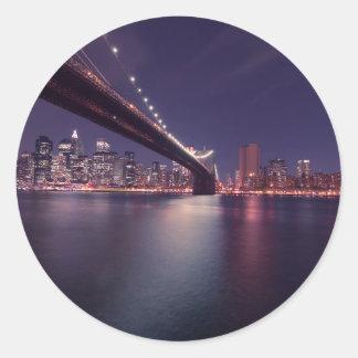 Brooklyn Bridge, New York City Sticker